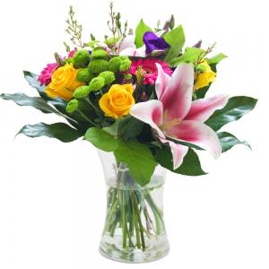 Sweet Pea Florists - Elegant Vase
