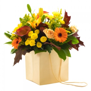 Sweet Pea Florists - The Fall Bouquet